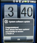 Sprint HTC EVO Shift Android 2.3 Gingerbread OS update