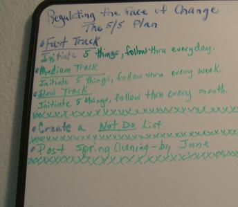Regulating the Pace of Change
