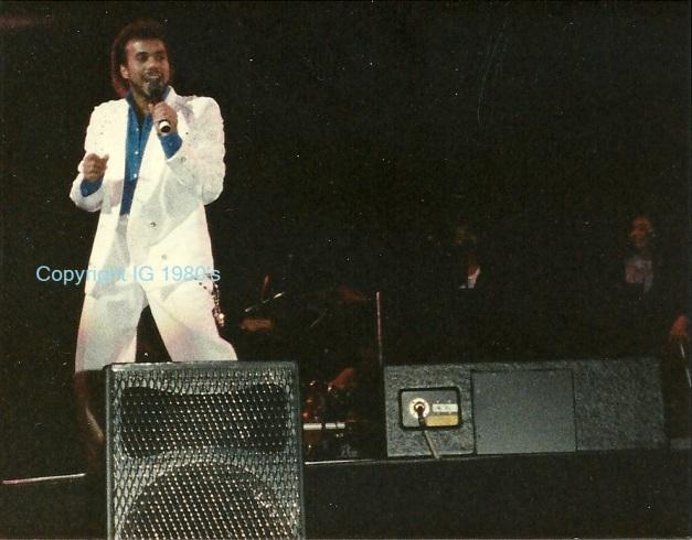 Howard Hewett opening act to Luther Vandross 80's, TN