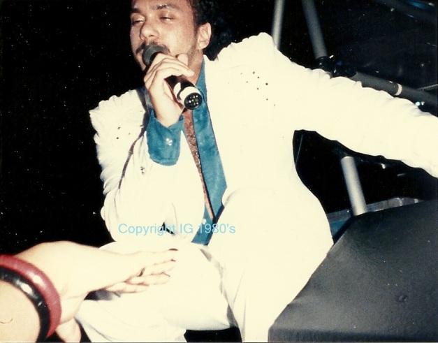 Howard Hewett opening act to Luther Vandross 80's TN