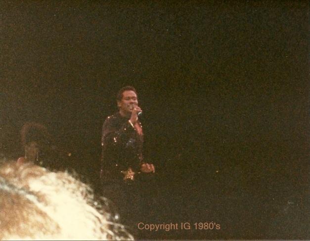 Luther Vandross in concert