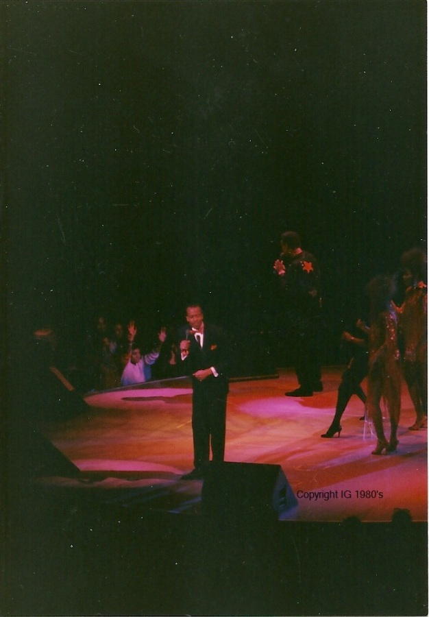 Luther Vandross in concert 80's