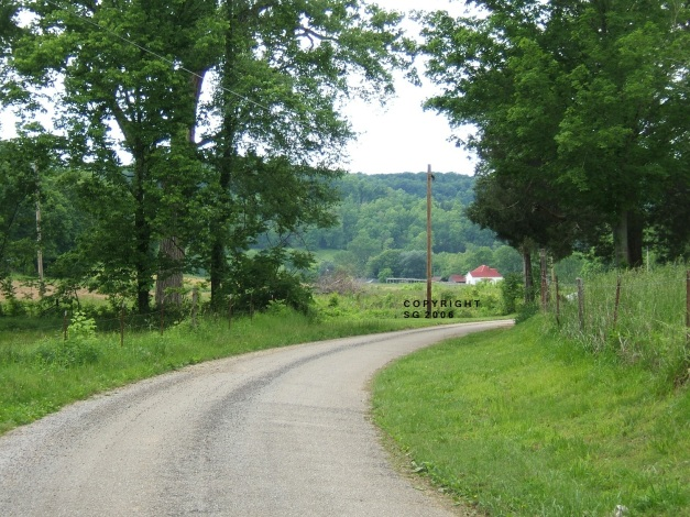 Old country path