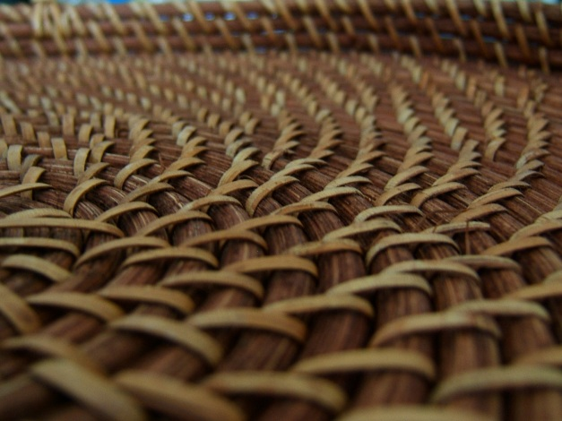 Textured Wicker Tray