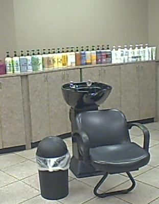 Weekly Photo Challenge: A READY shampoo bowl and chair.